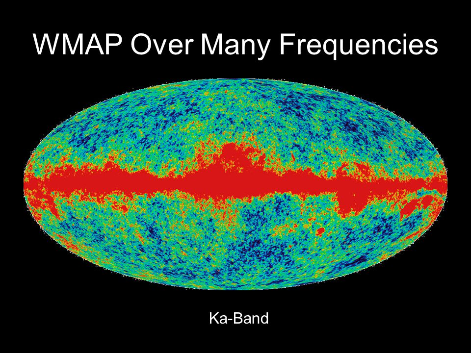 WMAP Over Many Frequencies Ka-Band