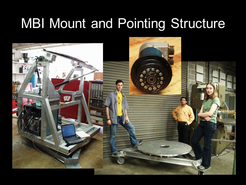 MBI Mount and Pointing Structure