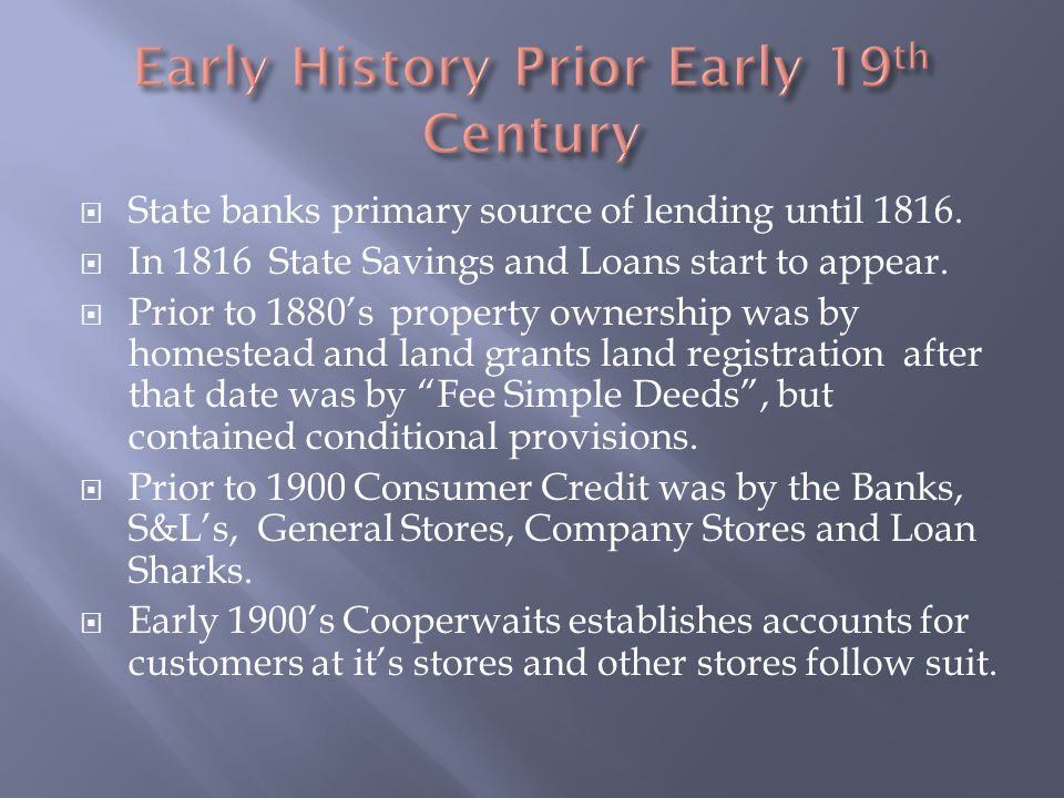 The 1920s consumer credit and investment was in full swing – They were using the Banks & S&LS to buy major consumer items, real property and the Automobile.