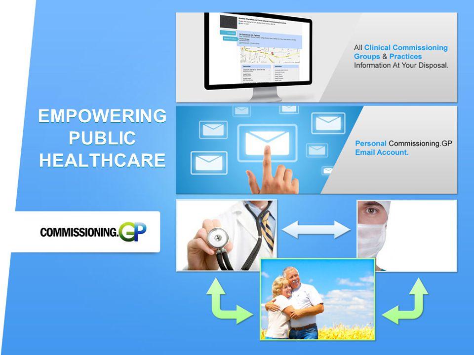 EMPOWERING PUBLIC HEALTHCARE