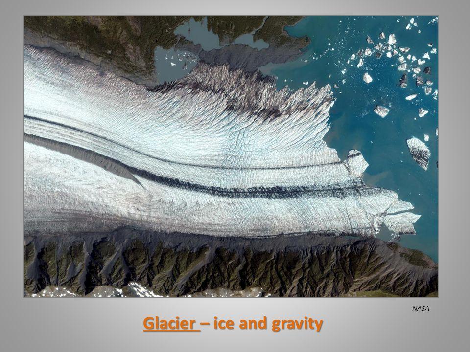 Glacier – ice and gravity NASA