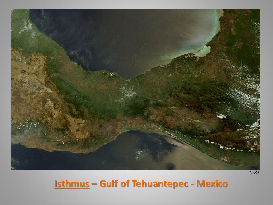Isthmus – Gulf of Tehuantepec - Mexico NASA