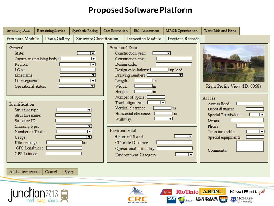 Proposed Software Platform