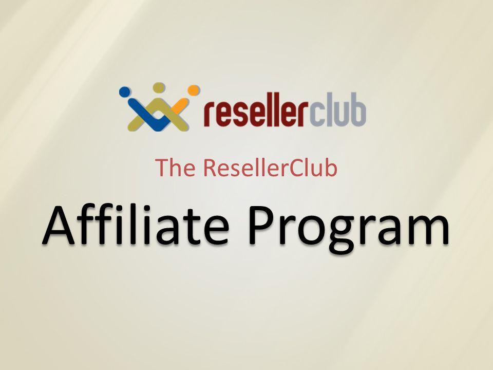 The ResellerClub Affiliate Program