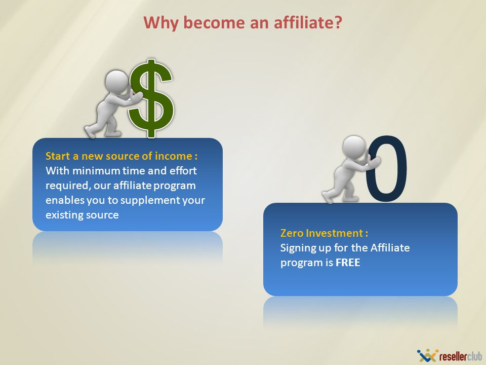 Why become an affiliate.