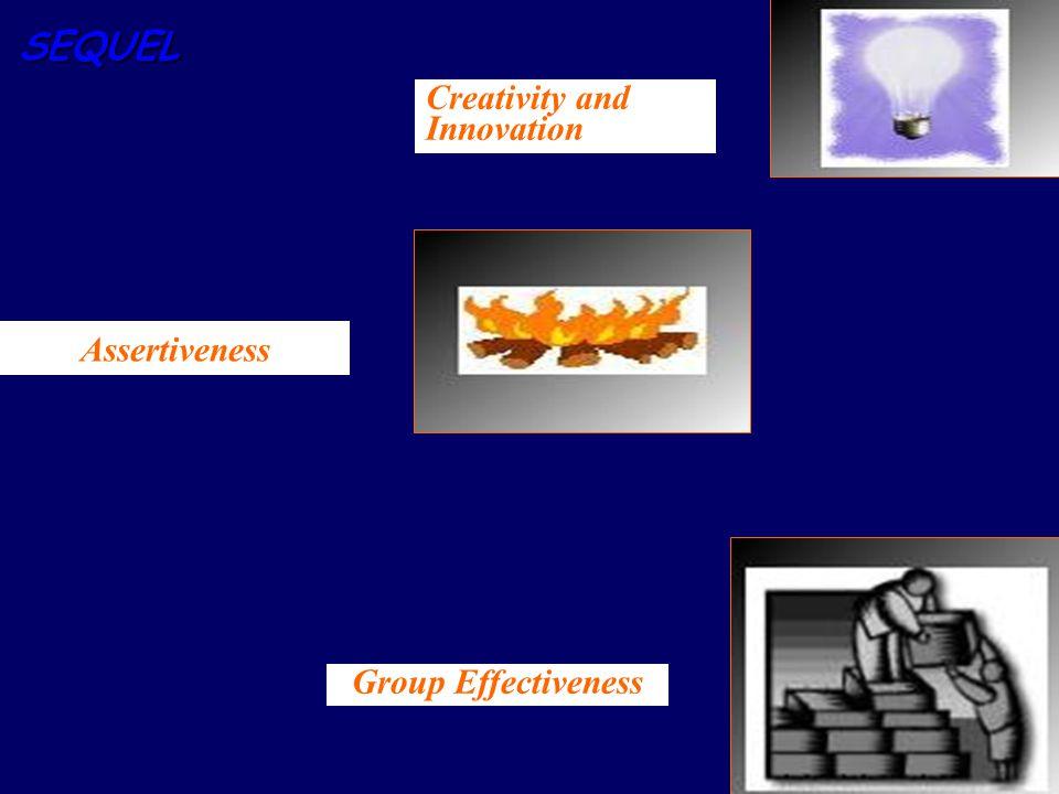 SEQUEL Assertiveness Creativity and Innovation Group Effectiveness