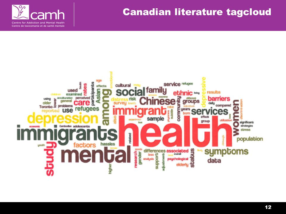 12 Canadian literature tagcloud