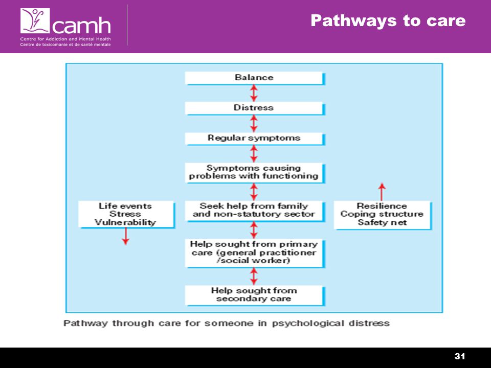 31 Pathways to care