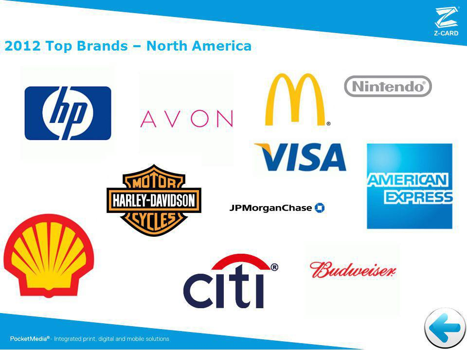 2012 Top Brands – North America