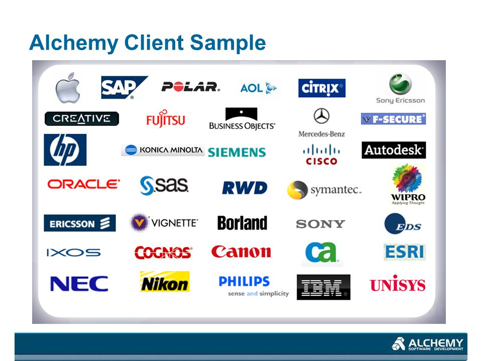 Alchemy Client Sample