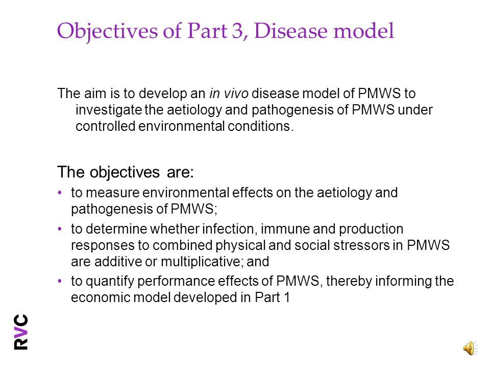 Objectives of Part 2, Immunology The objectives are : Assess differences in cell type-specific signalling pathways perturbed by PCV2 infection Analyse secondary responses of PCV2-infected cells isolated from different tissues; and Investigate whether differences in PCV2/PMWS susceptibility are based on a genetic link attributable to a specific signalling pathway.