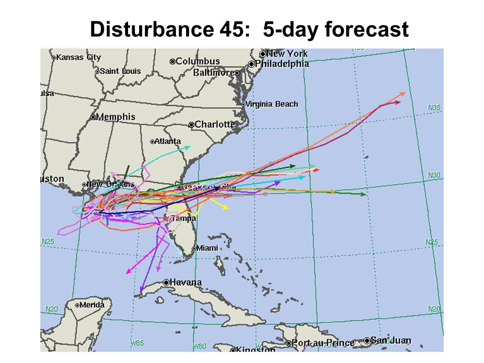 Disturbance 45: 5-day forecast