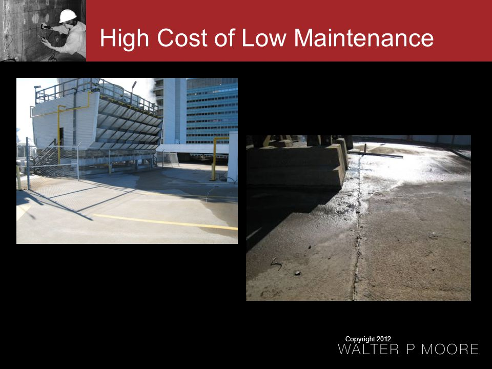 High Cost of Low Maintenance Copyright 2012