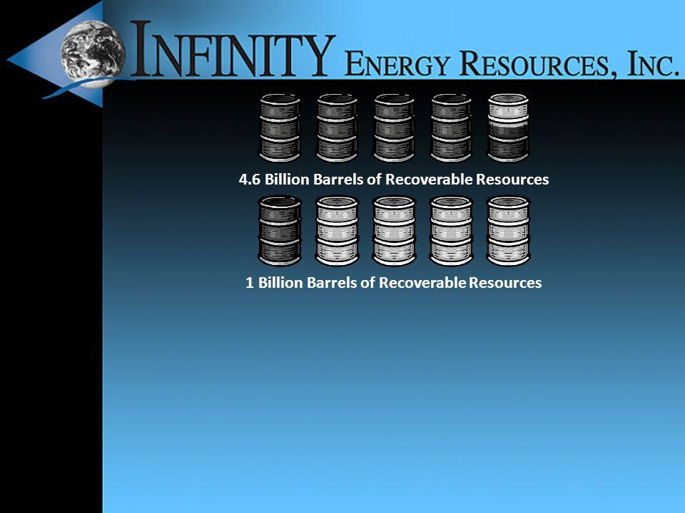 1 Billion Barrels of Recoverable Resources