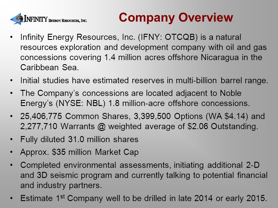 1 Billion Barrels of Recoverable Resources