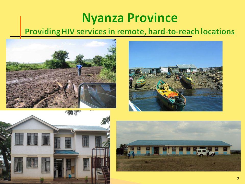 HIV Care & Treatment Care & ART Sites 4