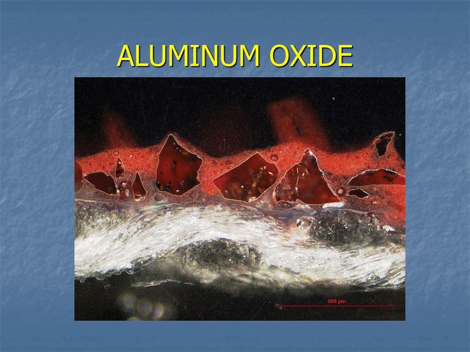 Abrasive Grains – Most Common Aluminium Oxide Al 2 O 3 Aluminium Oxide Al 2 O 3 Silicon CarbideSiC AluminaZirconiaZrO 2 / Al 2 O 3