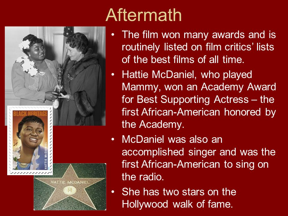 Aftermath The film won many awards and is routinely listed on film critics lists of the best films of all time.