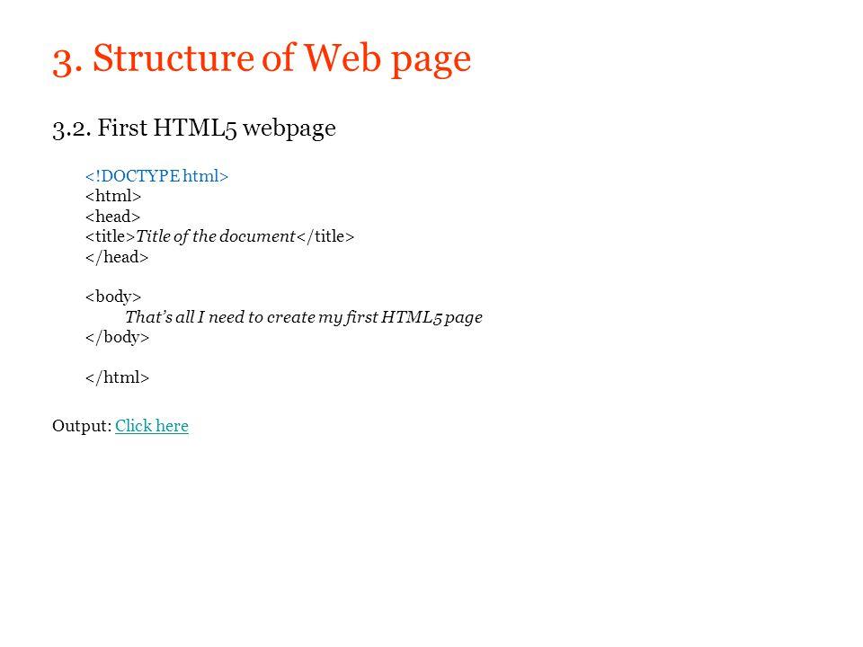 5. Audio & video 4.3. new html5 element