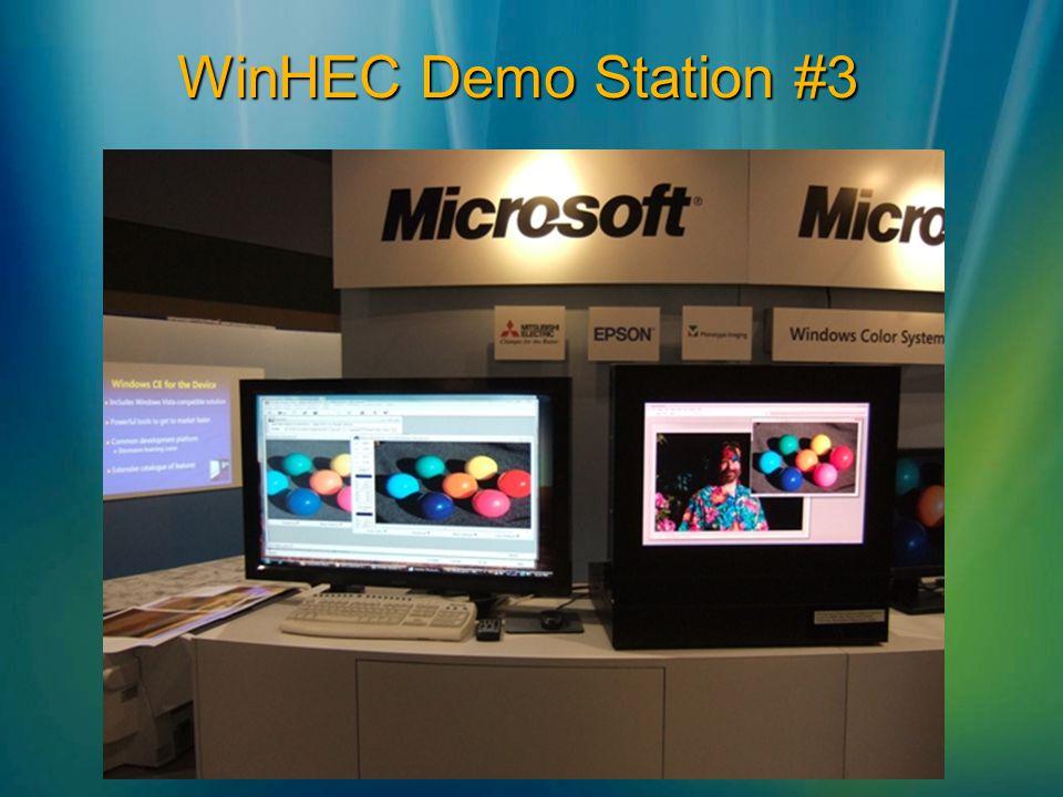 WinHEC Demo Station #3