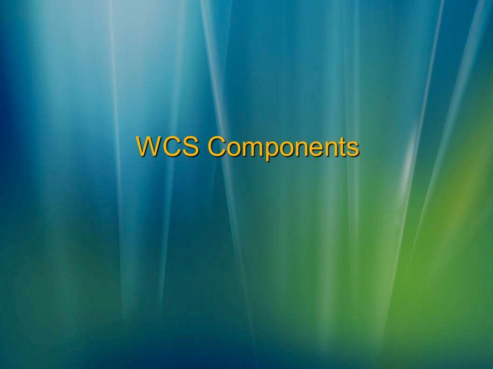 WCS Components