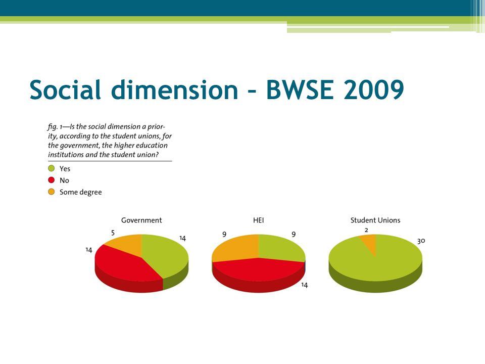 Social dimension – BWSE 2009