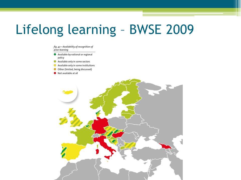 Lifelong learning – BWSE 2009