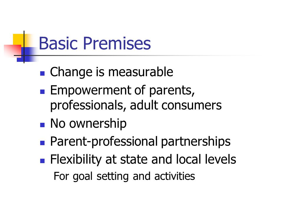 Basic Premises National supports with state and local efforts Local and state efforts drive national directions The National Agenda is not the solution – people are the solution