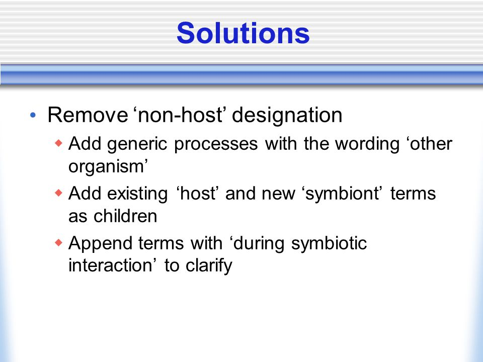 Solutions E.g.