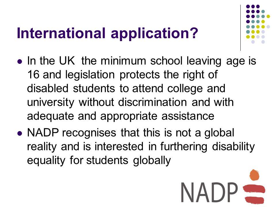 International application.