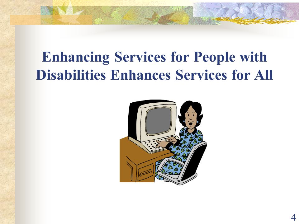 35 Best Practices Seek out and consult with WIA technical assistance resources and One-Stops through out the nation who have developed and are implementing exemplary programs that are effectively serving people with a variety of disabilities.