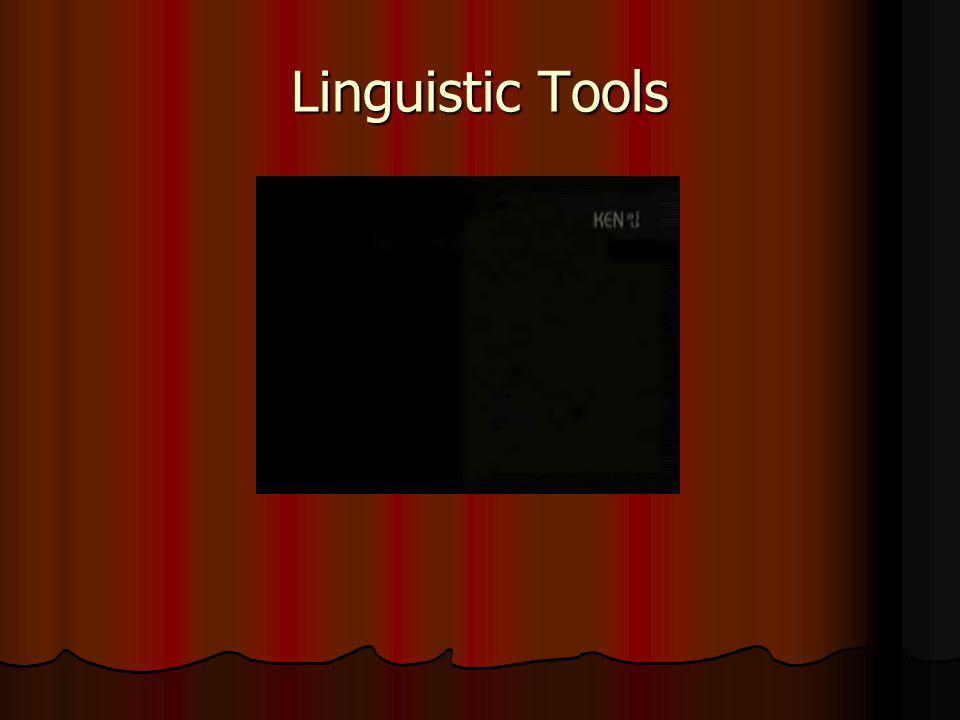 Linguistic Tools