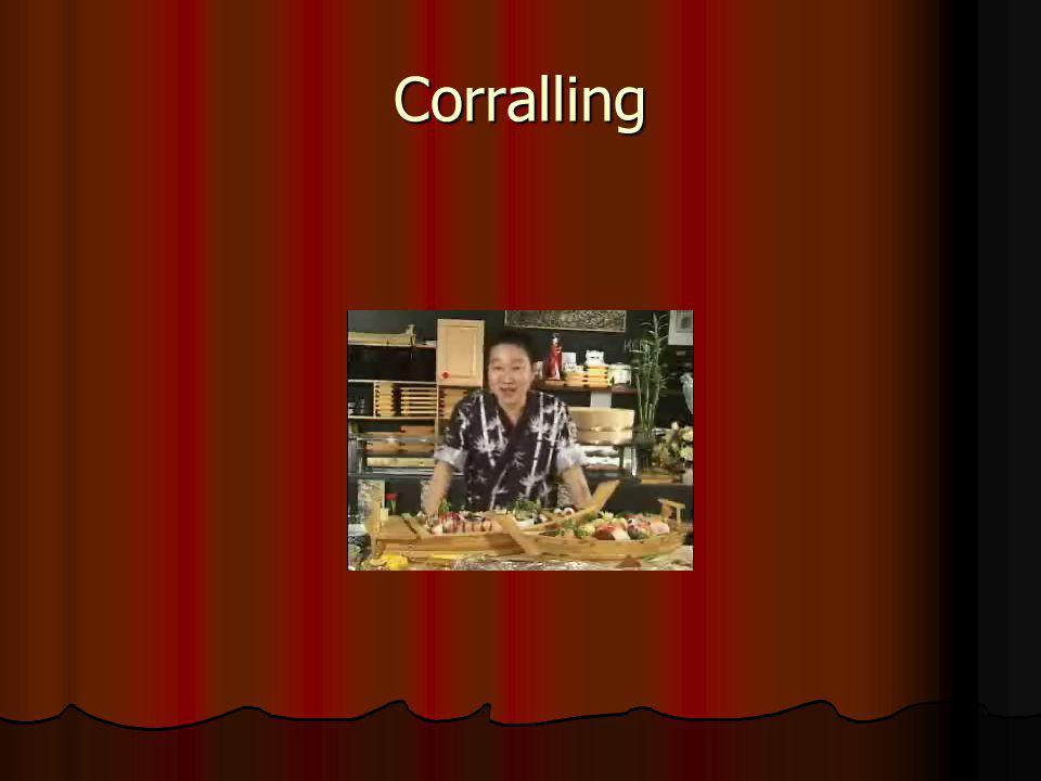 Corralling