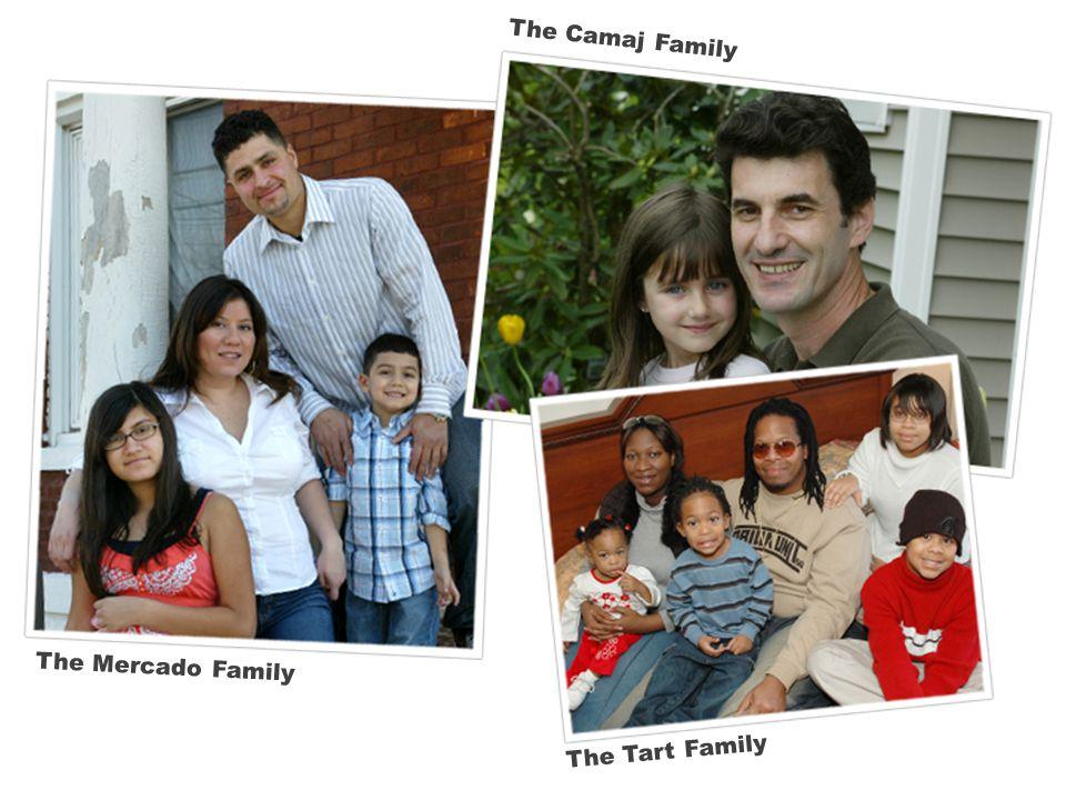 The Mercado Family The Camaj Family The Tart Family