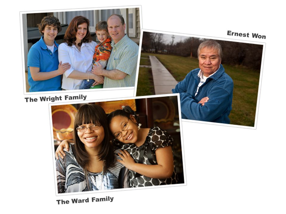 The Wright Family Ernest Won The Ward Family