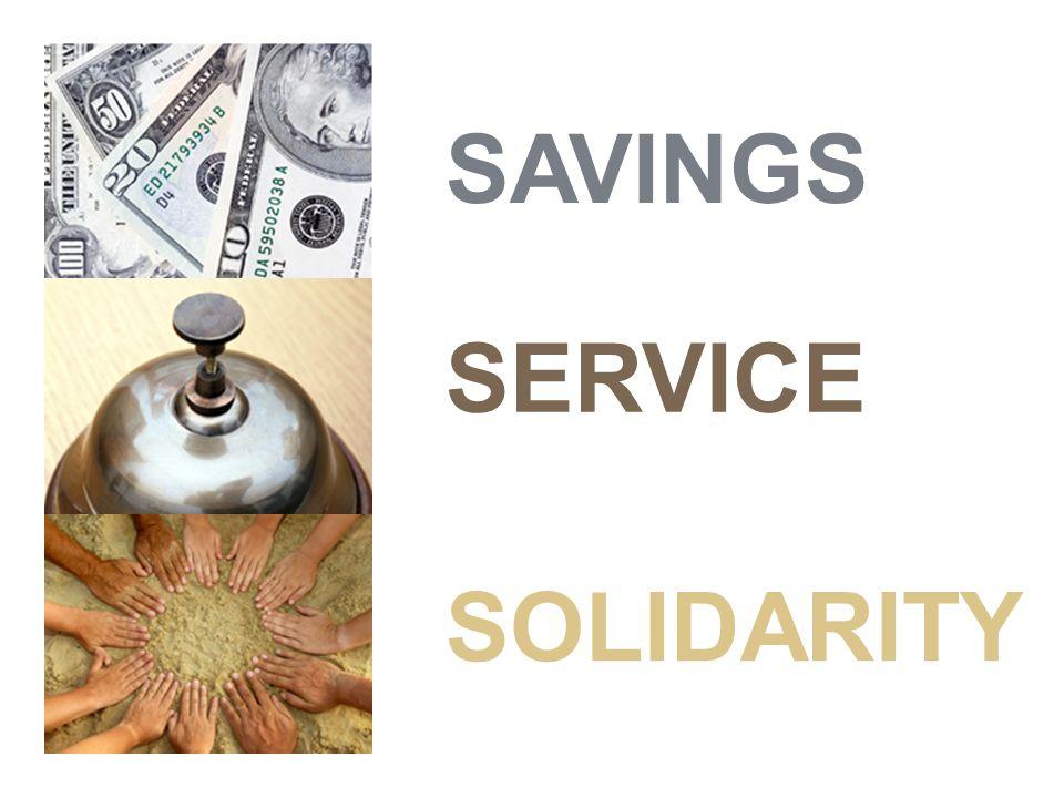 SAVINGS SERVICE SOLIDARITY