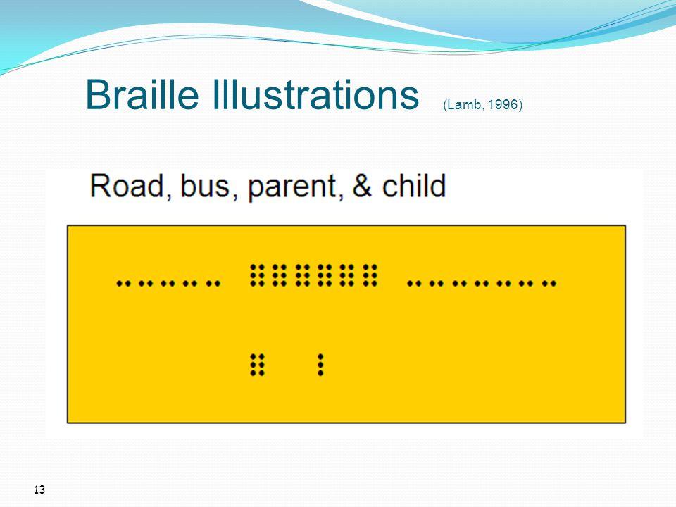 13 Braille Illustrations (Lamb, 1996)