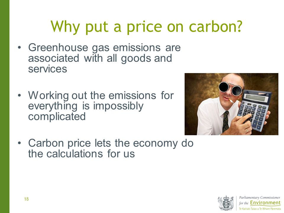 18 Why put a price on carbon.
