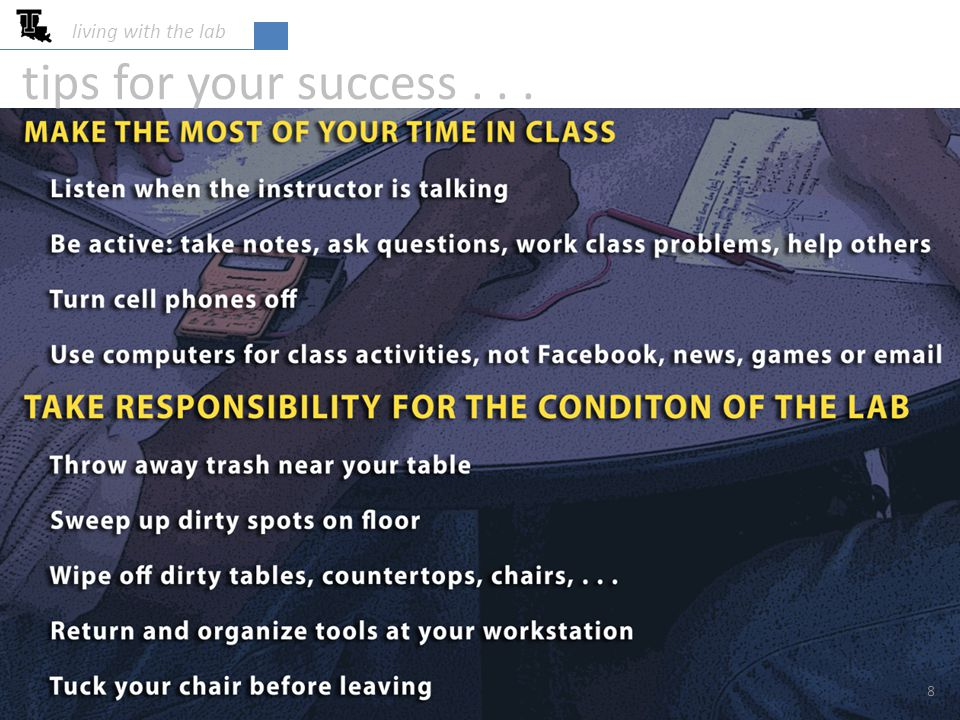 8 tips for your success...
