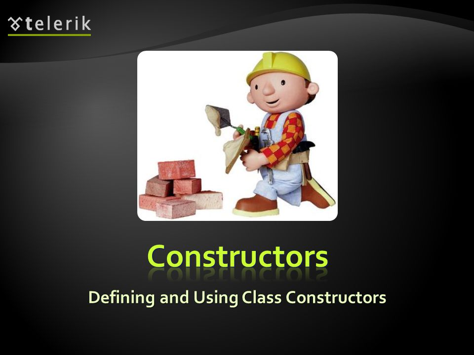 Defining and Using Class Constructors