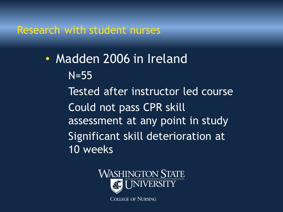 Heartcode BLS Part 1 Debriefing screens Must pass with 84% Students took between 30-75 minutes to complete