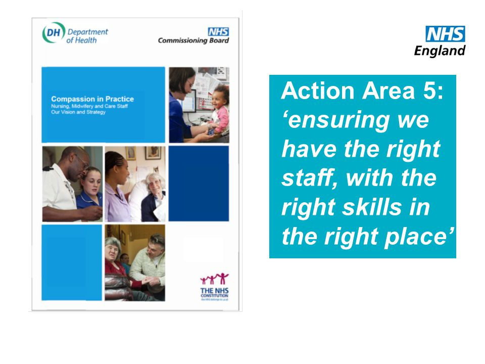 Action Area 5: ensuring we have the right staff, with the right skills in the right place