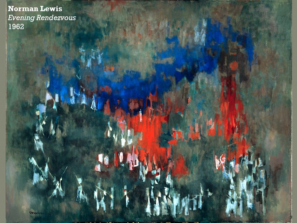 Norman Lewis Evening Rendezvous 1962