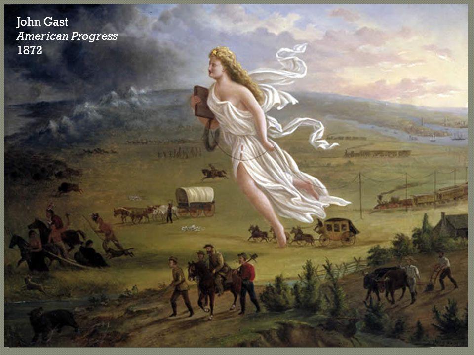 John Gast American Progress 1872