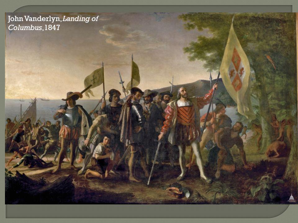 John Vanderlyn, Landing of Columbus,1847