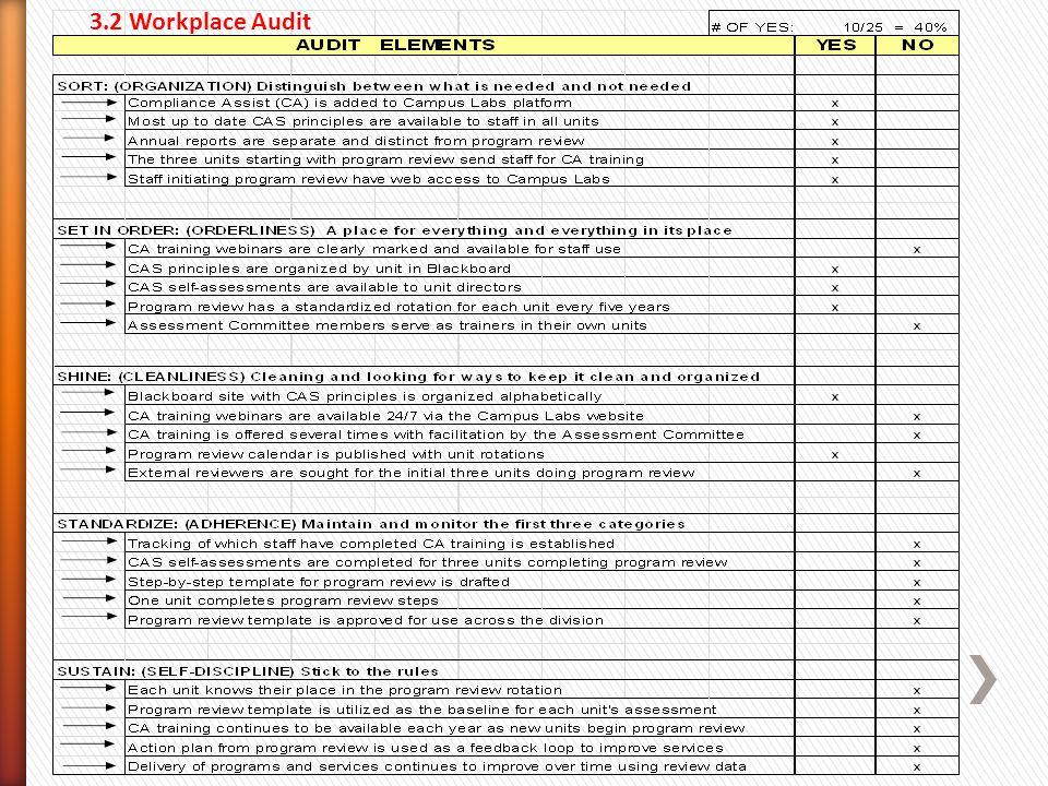 3.2 Workplace Audit