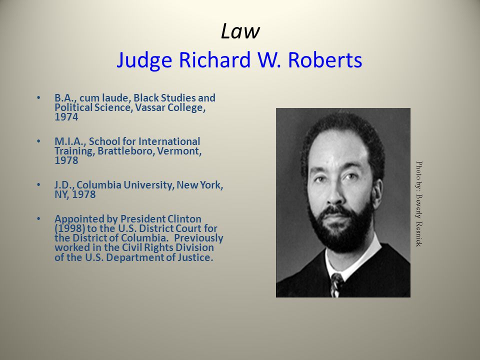 Law Judge Richard W.