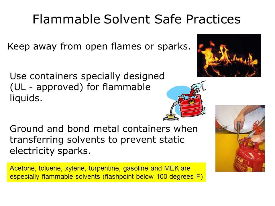 Gloves for Solvent Skin Protection Only chemical resistant gloves will provide adequate protection for the hands.