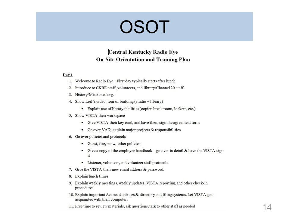 OSOT 14