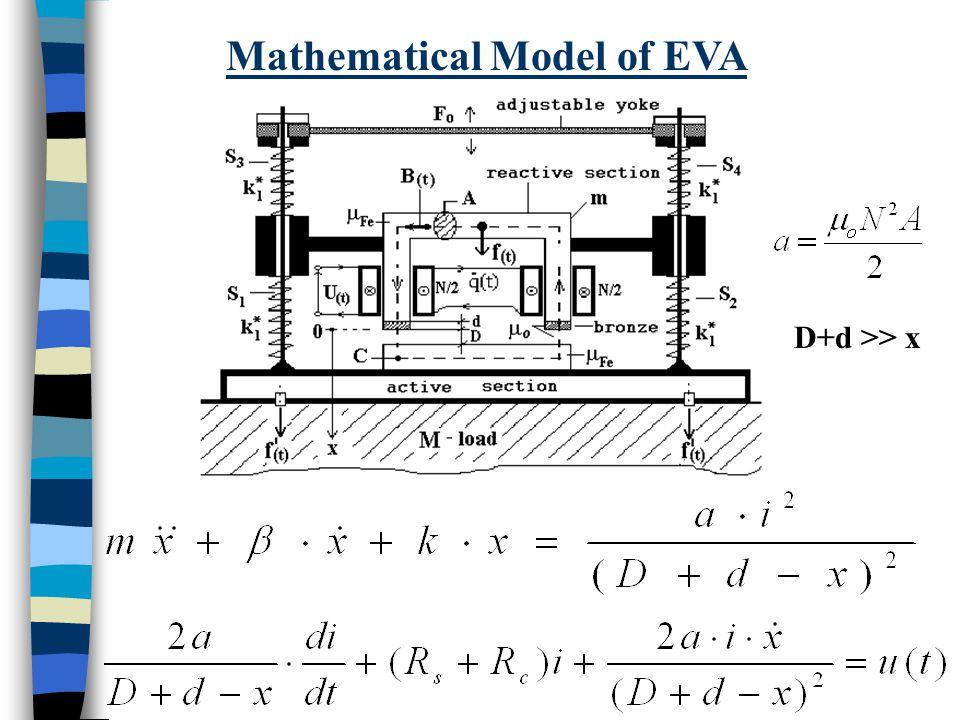 Mathematical Model of EVA D+d >> x